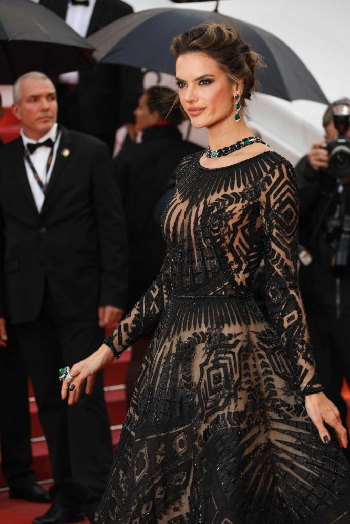 Alessandra Ambrosio at the Blackkklansman Premiere During the 71st Cannes Film Festival in Cannes-5