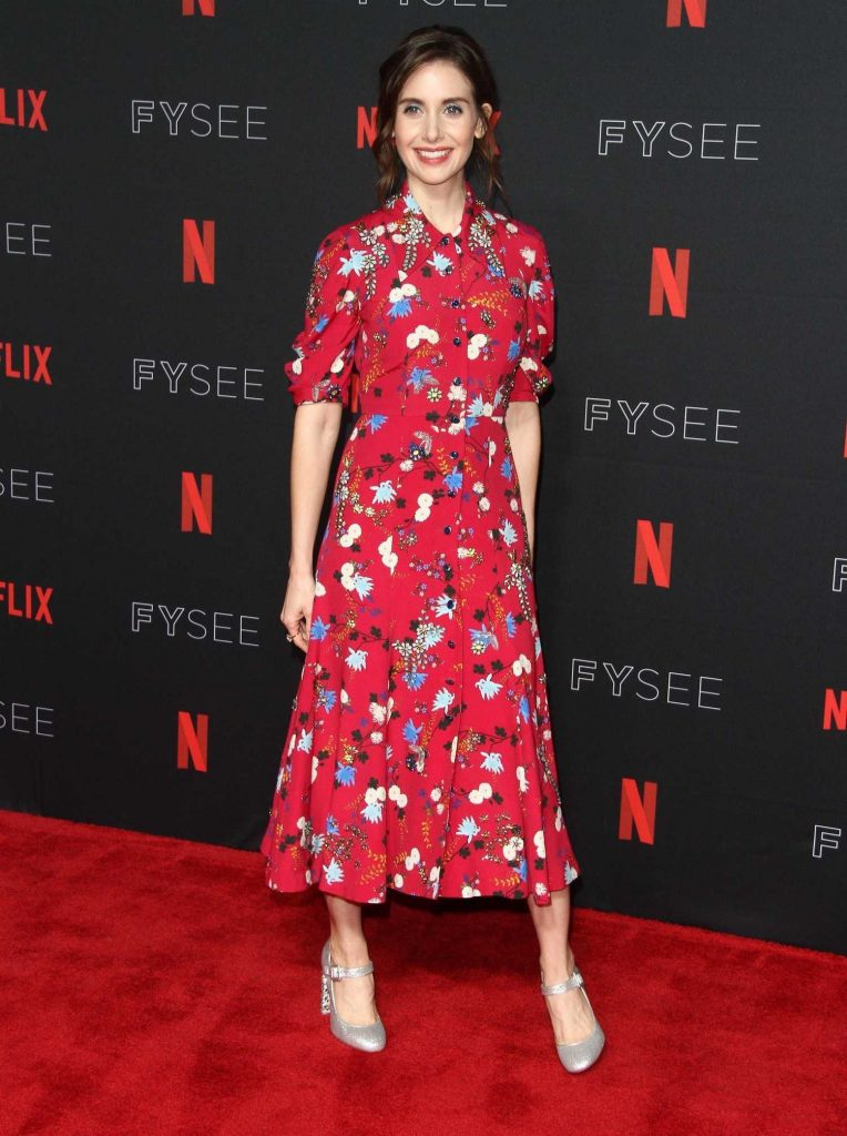 Alison Brie at Netflix Glow FYSee Event at Raleigh Studios in Los Angeles-2