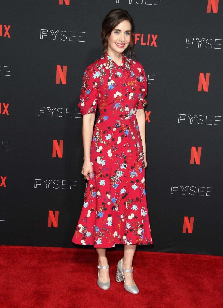 Alison Brie at Netflix Glow FYSee Event at Raleigh Studios in Los Angeles-3