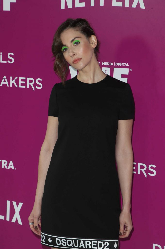 Alison Brie at the Rebels and Rules Breakers for Your Consideration Event at Raleigh Studios in Los Angeles-3