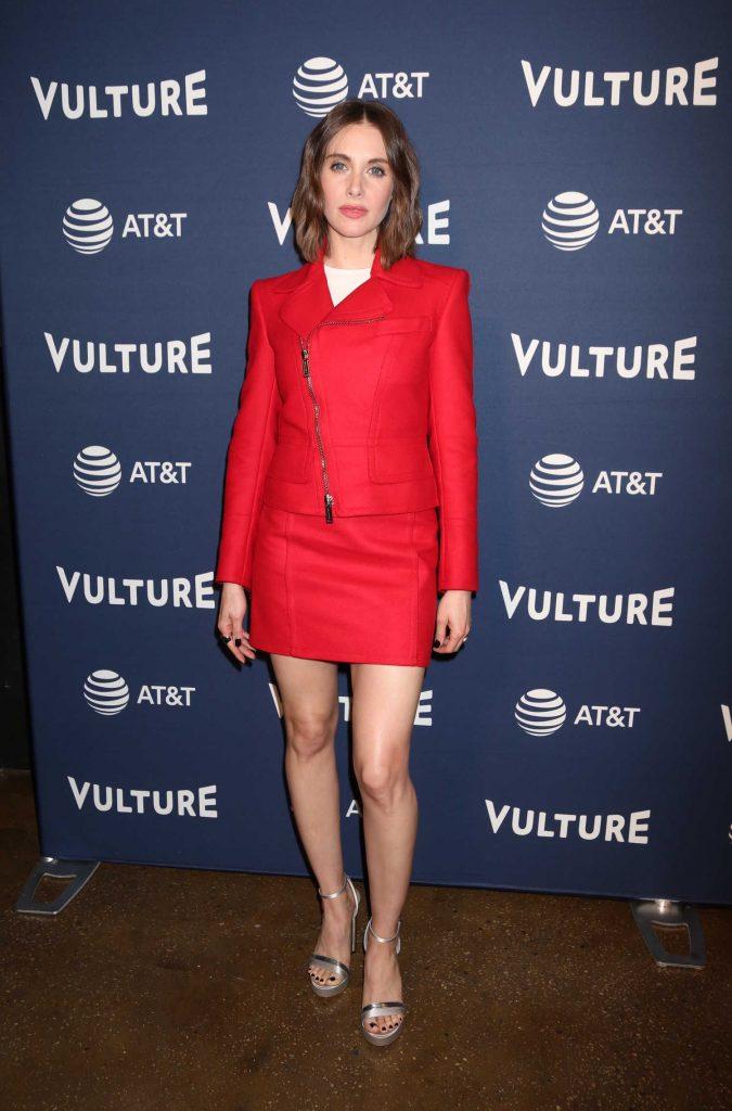 Alison Brie Attends Vulture Festival at Milk Studios in New York City-1