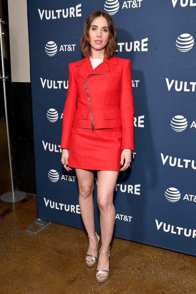 Alison Brie Attends Vulture Festival at Milk Studios in New York City-2