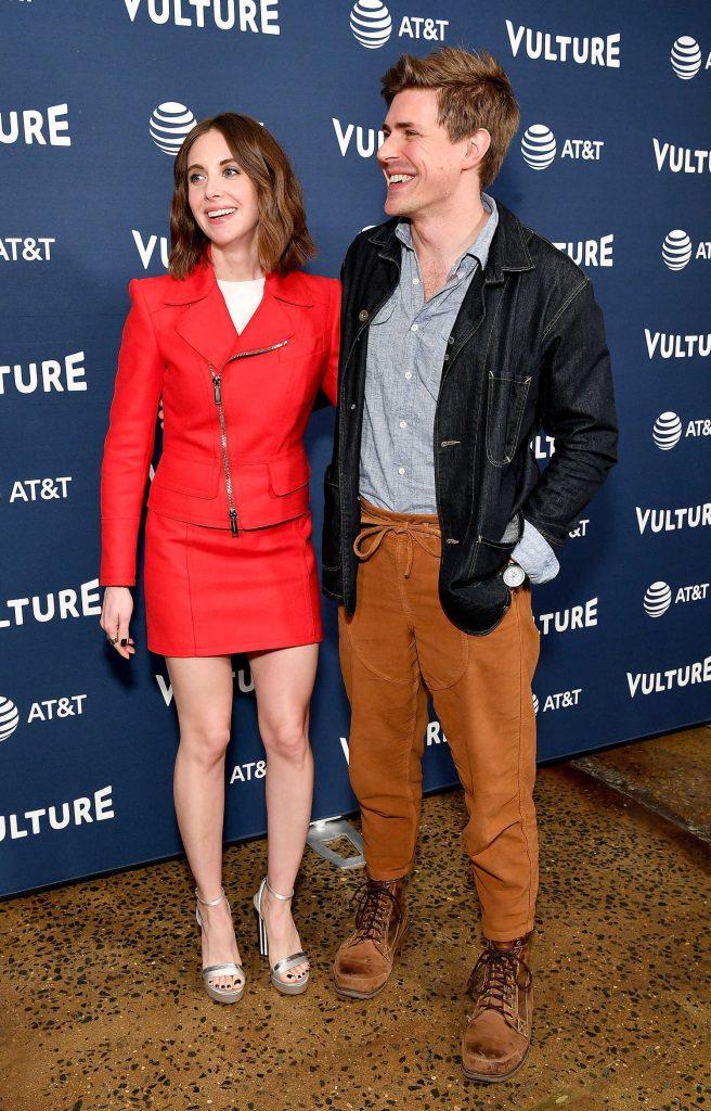 Alison Brie Attends Vulture Festival at Milk Studios in New York City-4