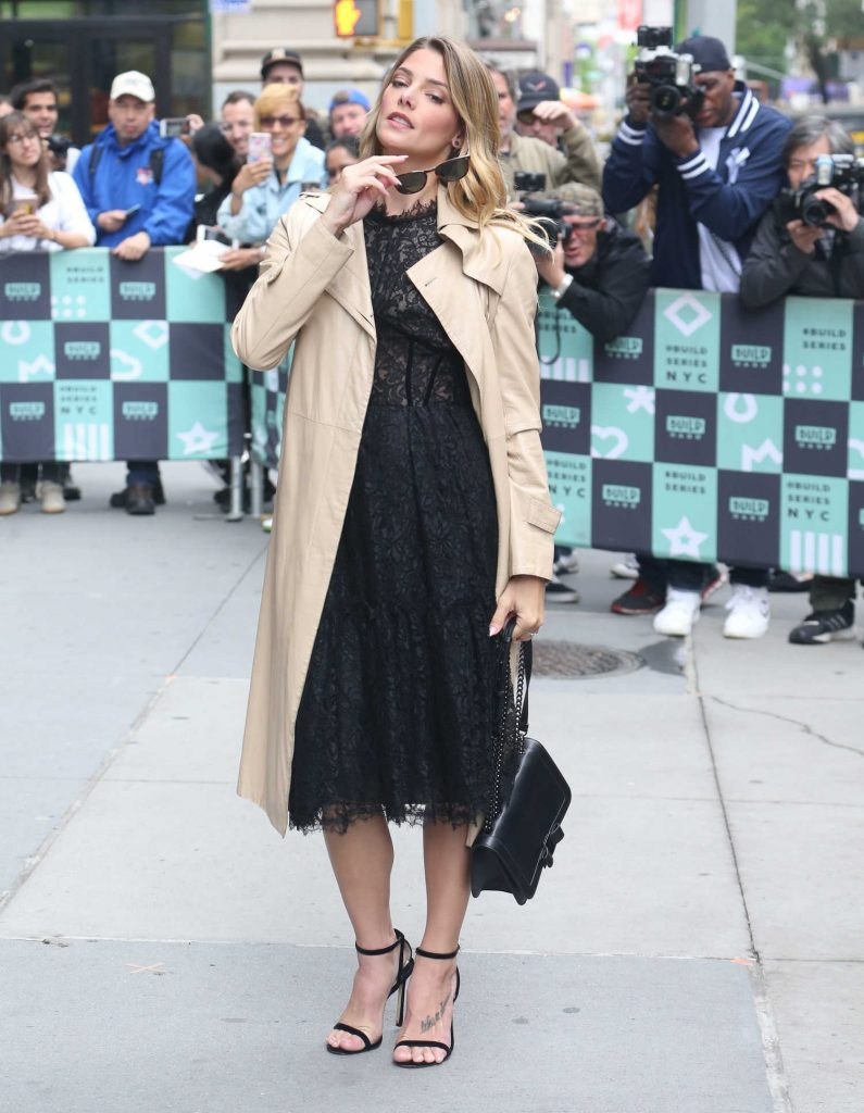 Ashley Greene Arrives at AOL Build Series Studio in New York-4