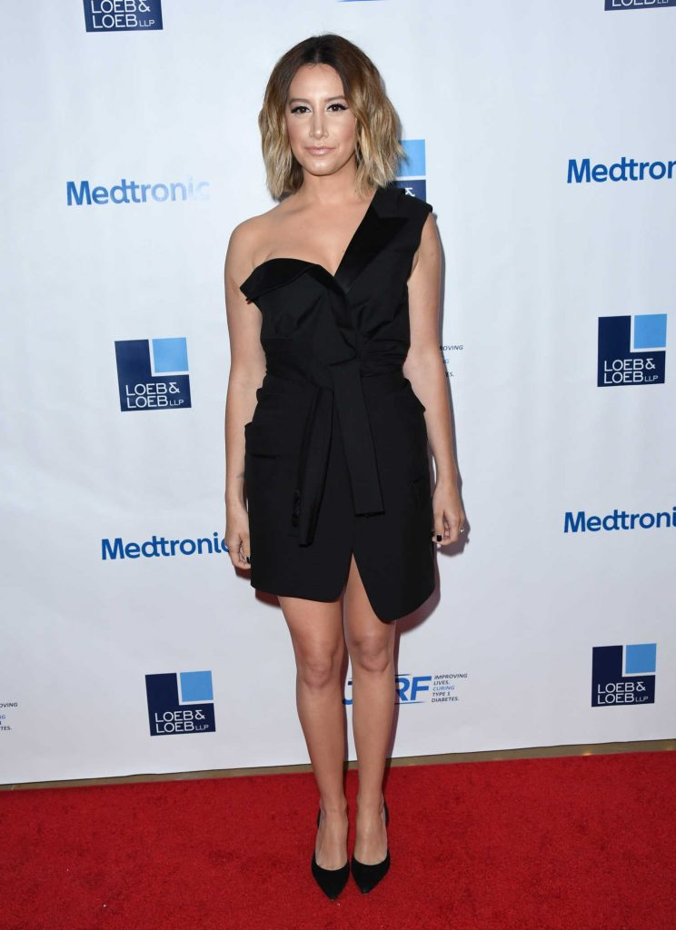 Ashley Tisdale at JDRF 15th Annual Imagine Gala in Beverly Hills-1