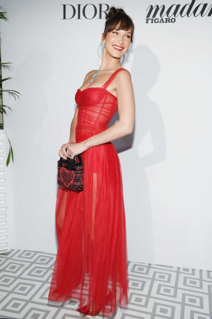 Bella Hadid Arrives for the Dior Dinner at JW Marriott in Cannes-3
