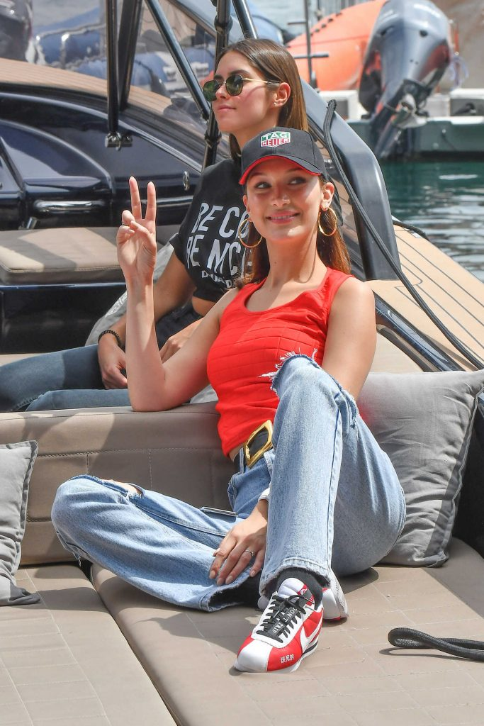 Bella Hadid at the 76th Monaco Formula One Grand Prix at Circuit de Monaco in Monte-Carlo-1