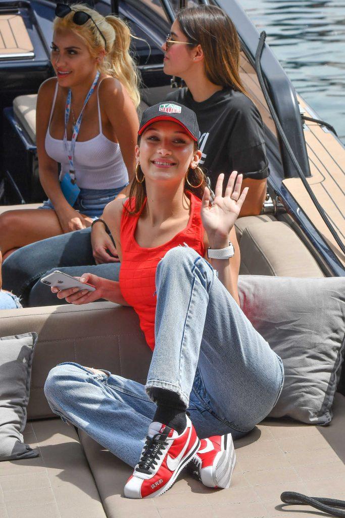 Bella Hadid at the 76th Monaco Formula One Grand Prix at Circuit de Monaco in Monte-Carlo-2