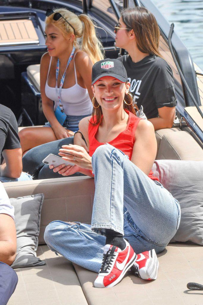 Bella Hadid at the 76th Monaco Formula One Grand Prix at Circuit de Monaco in Monte-Carlo-3