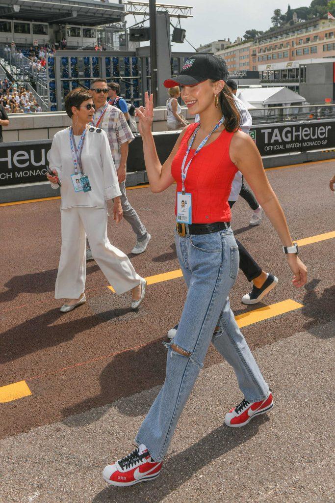 Bella Hadid at the 76th Monaco Formula One Grand Prix at Circuit de Monaco in Monte-Carlo-4