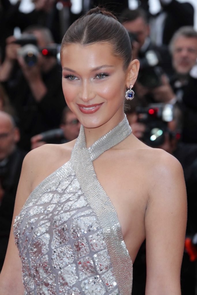 Bella Hadid at the Blackkklansman Premiere During the 71st Cannes Film Festival in Cannes-5
