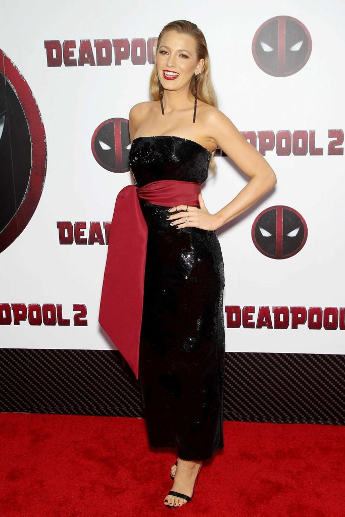 Blake Lively at Deadpool 2 Premiere in New York City-1