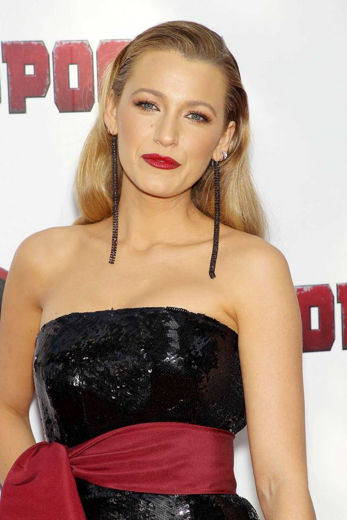 Blake Lively at Deadpool 2 Premiere in New York City-5