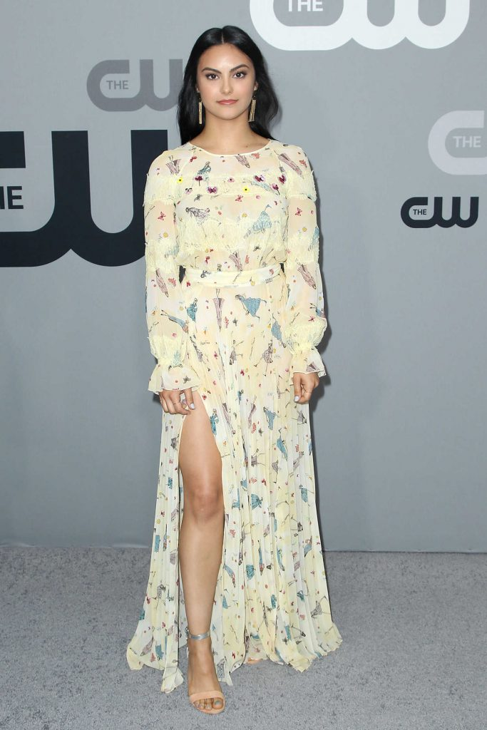 Camila Mendes at CW Network Upfront Presentation in New York City-1