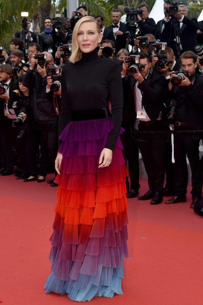 Cate Blanchett at the Blackkklansman Premiere During the 71st Cannes Film Festival in Cannes-1