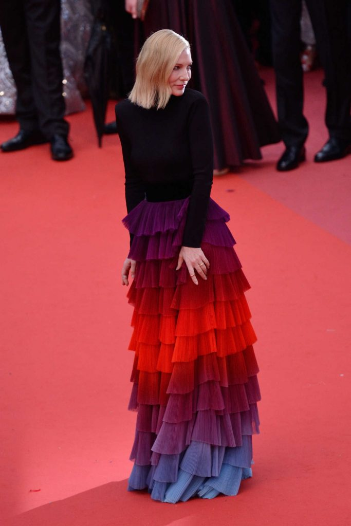 Cate Blanchett at the Blackkklansman Premiere During the 71st Cannes Film Festival in Cannes-3