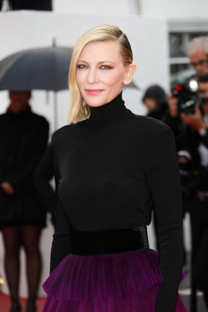 Cate Blanchett at the Blackkklansman Premiere During the 71st Cannes Film Festival in Cannes-5