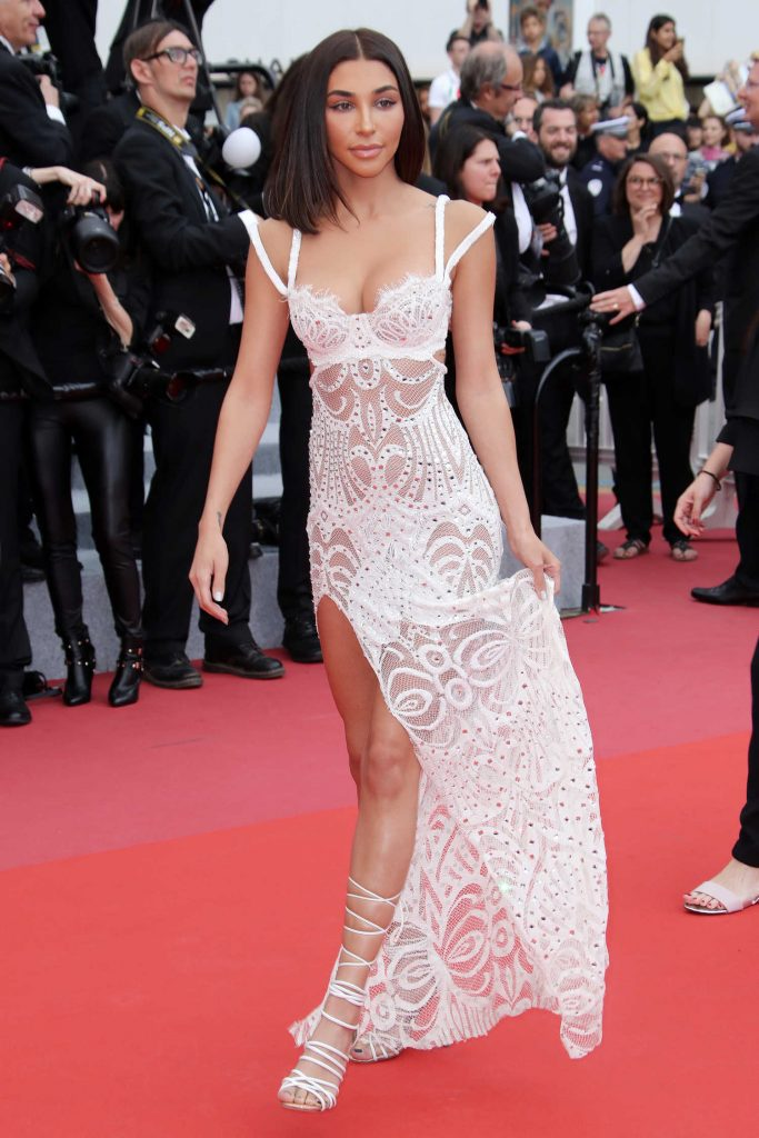 Chantel Jeffries at Yomeddine Premiere During the 71st Cannes Film Festival in Cannes-1