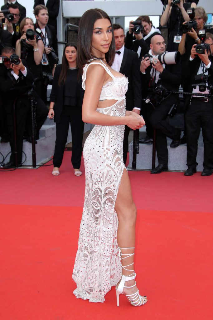 Chantel Jeffries at Yomeddine Premiere During the 71st Cannes Film Festival in Cannes-2