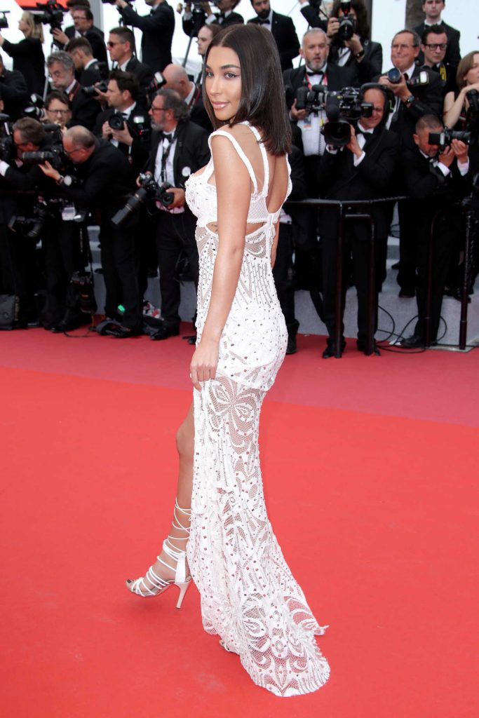Chantel Jeffries at Yomeddine Premiere During the 71st Cannes Film Festival in Cannes-3