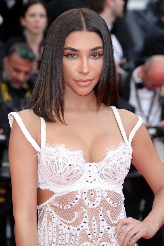 Chantel Jeffries at Yomeddine Premiere During the 71st Cannes Film Festival in Cannes-5