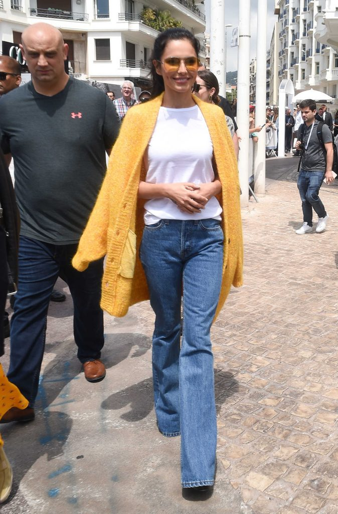 Cheryl Tweedy Was Seen Out in Cannes During the 71st Annual Cannes Film Festival-1