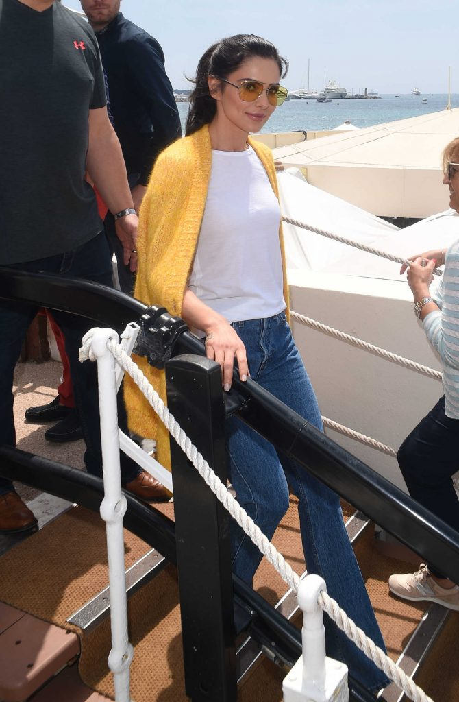 Cheryl Tweedy Was Seen Out in Cannes During the 71st Annual Cannes Film Festival-3