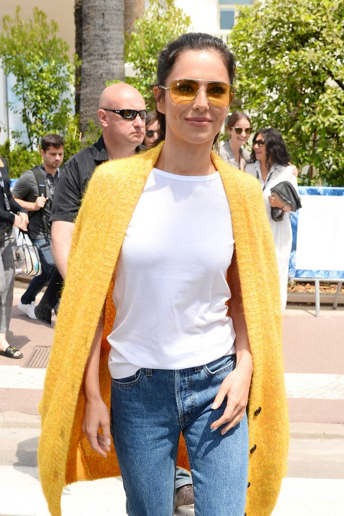 Cheryl Tweedy Was Seen Out in Cannes During the 71st Annual Cannes Film Festival-5