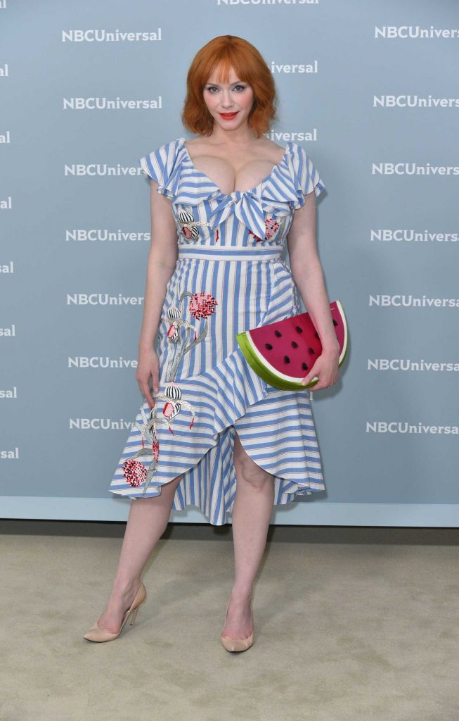 Christina Hendricks at NBCUniversal Upfront Presentation in New York City-3