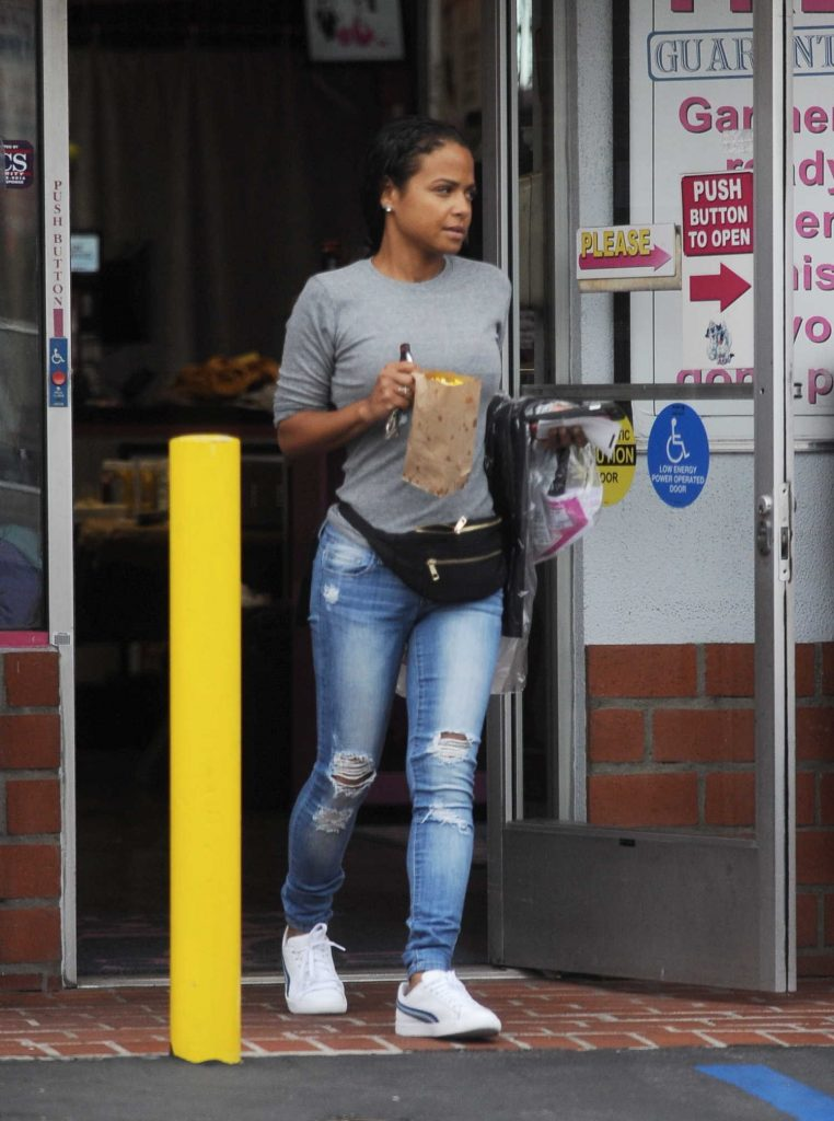 Christina Milian Was Seen Out in Toluca Lake-2