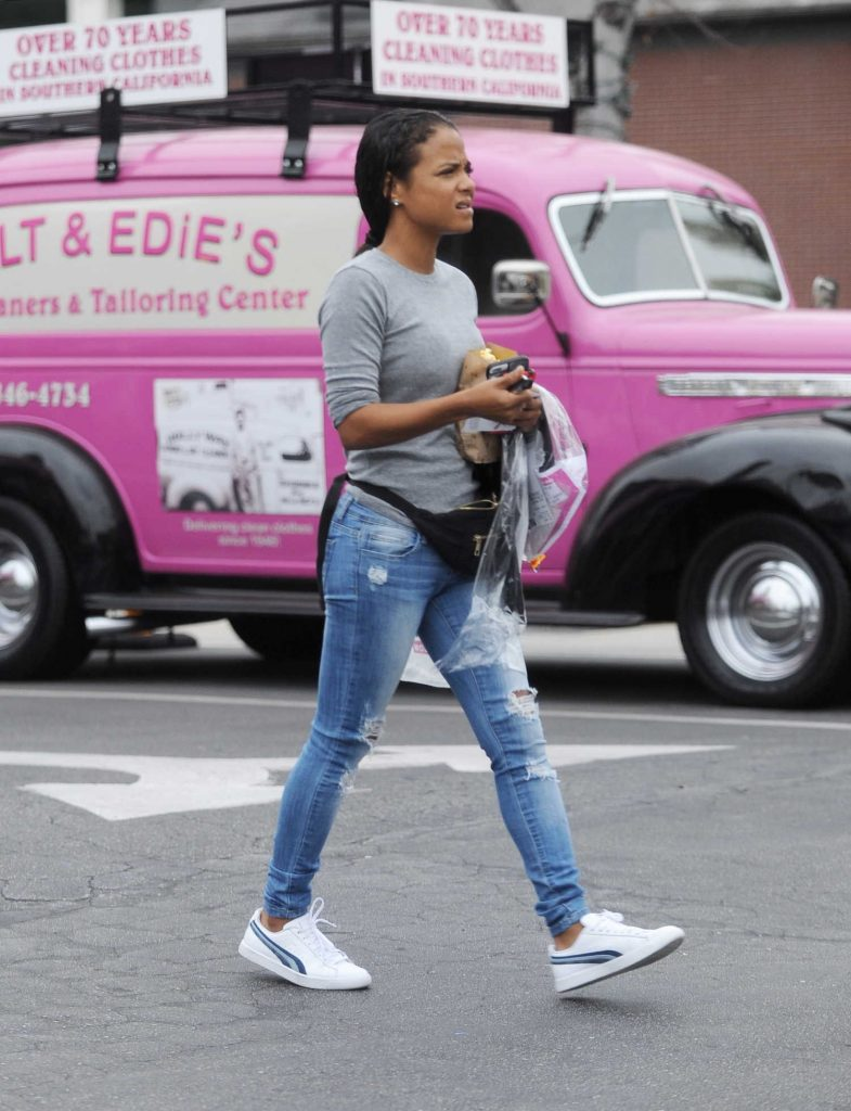 Christina Milian Was Seen Out in Toluca Lake-3