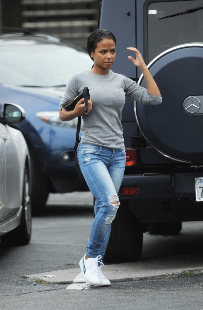 Christina Milian Was Seen Out in Toluca Lake-5