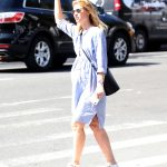 Claire Danes Takes a Cab in New York City