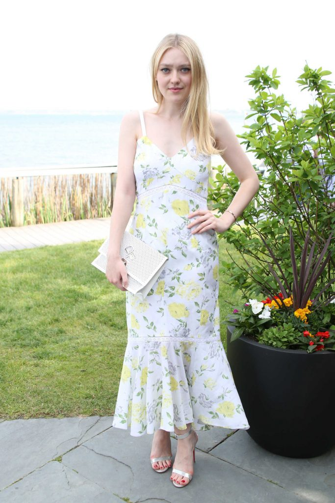 Dakota Fanning at Dujour Magazine Annual Memorial Day Party in New York-2