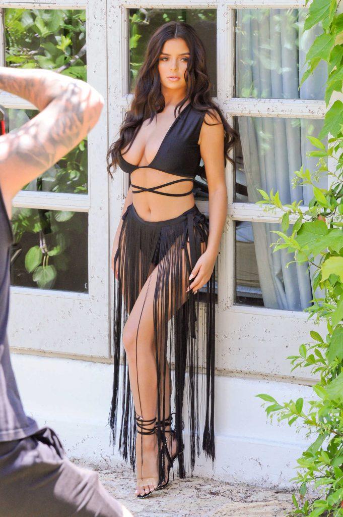 Demi Rose Does a Bikini Photoshoot in Ibiza-3