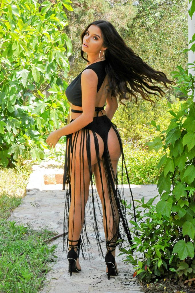 Demi Rose Does a Bikini Photoshoot in Ibiza-4