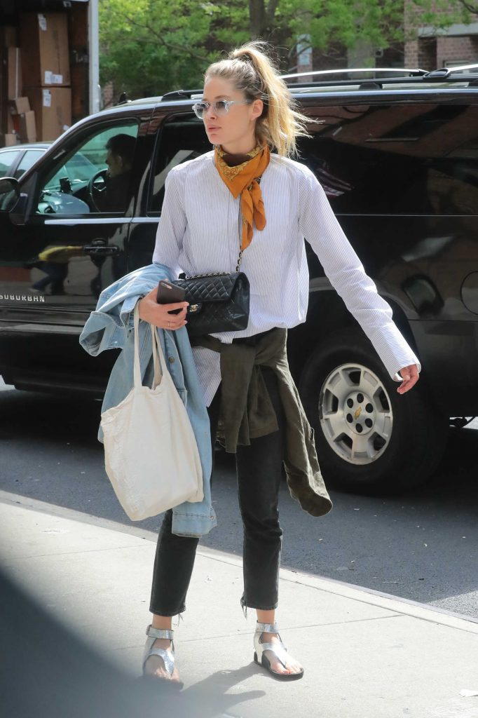 Doutzen Kroes Was Seen Out in New York City-1