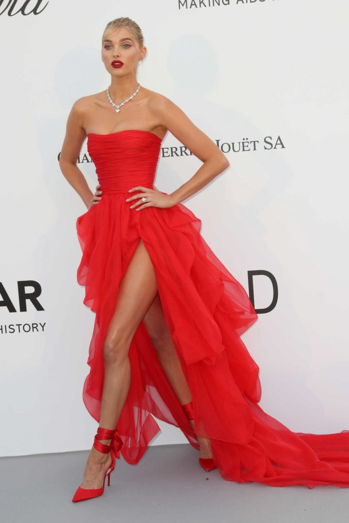 Elsa Hosk at amfAR's 25th Cinema Against AIDS Gala During the 71st Cannes Film Festival in Cannes-2