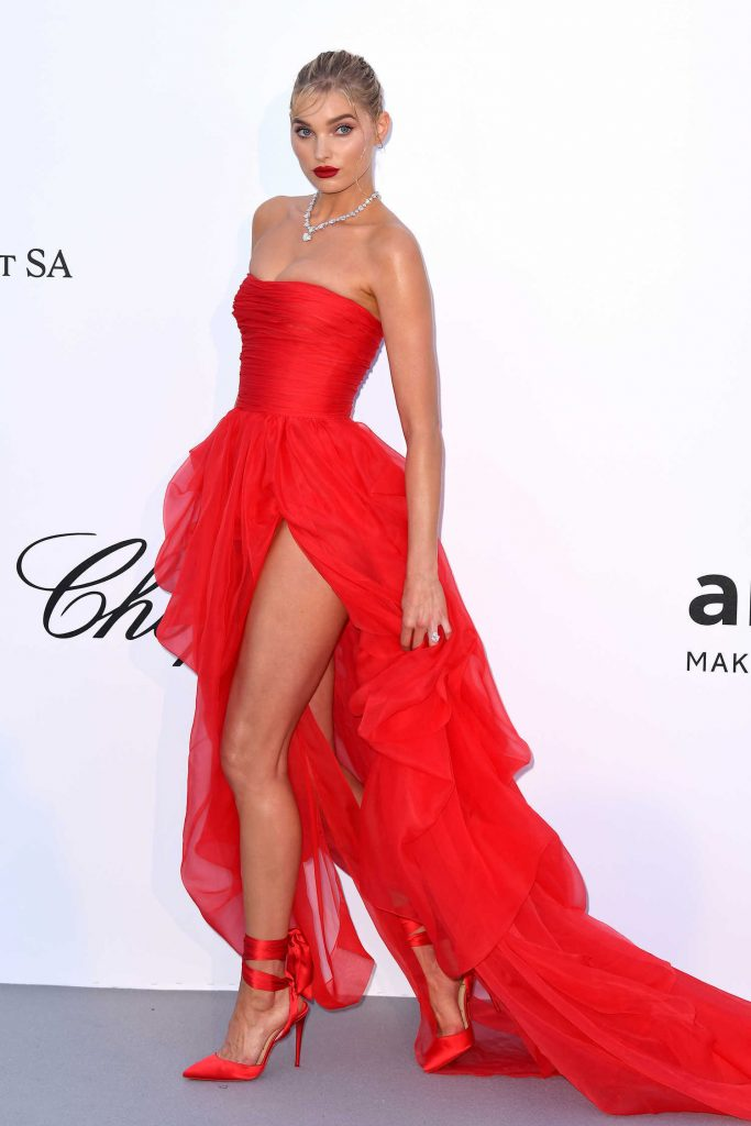 Elsa Hosk at amfAR's 25th Cinema Against AIDS Gala During the 71st Cannes Film Festival in Cannes-3