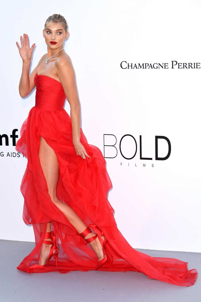 Elsa Hosk at amfAR's 25th Cinema Against AIDS Gala During the 71st Cannes Film Festival in Cannes-4