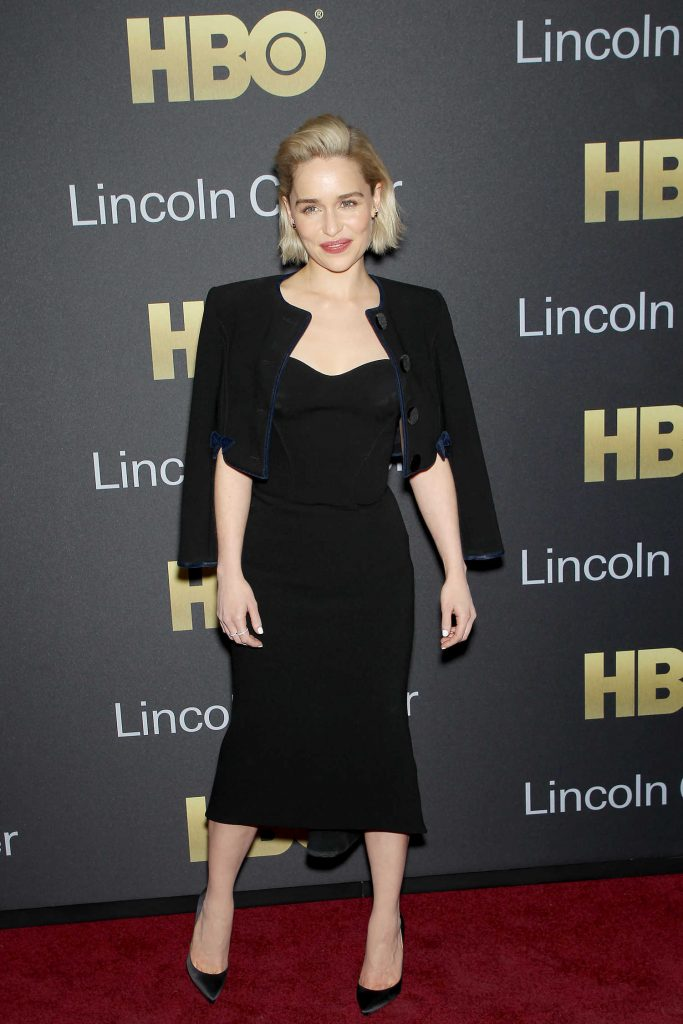 Emilia Clarke at the Richard Plepler and HBO Honored at Lincoln Center's American Songbook Gala in New York-1