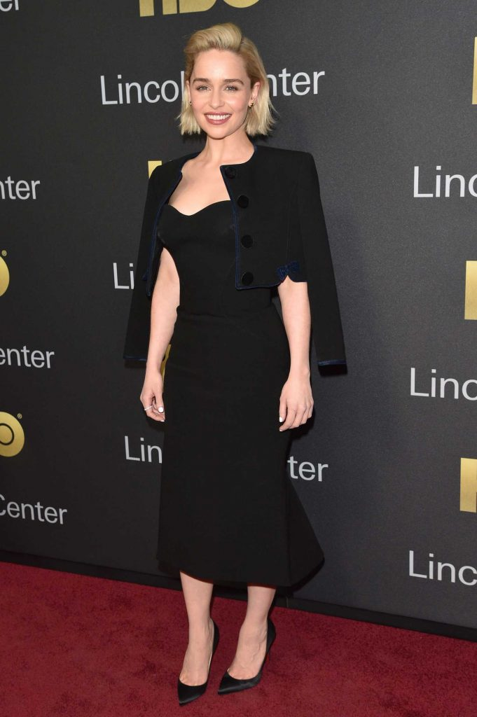 Emilia Clarke at the Richard Plepler and HBO Honored at Lincoln Center's American Songbook Gala in New York-2