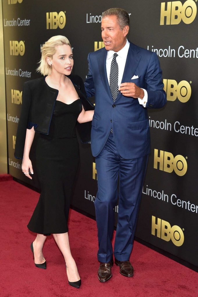 Emilia Clarke at the Richard Plepler and HBO Honored at Lincoln Center's American Songbook Gala in New York-3