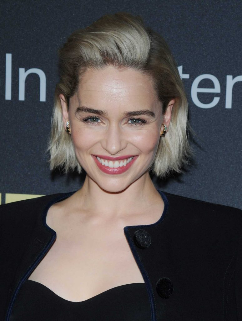 Emilia Clarke at the Richard Plepler and HBO Honored at Lincoln Center's American Songbook Gala in New York-5