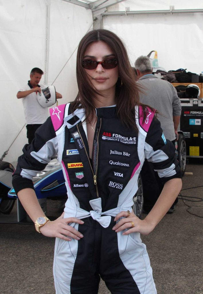 Emily Ratajkowski at 2018 ABB FIA Formula E BMW i Berlin E-Prix-3