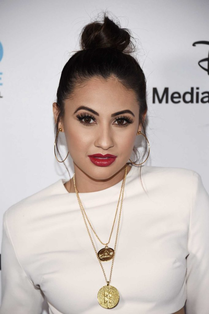 Francia Raisa at ABC International Upfronts in Burbank-2