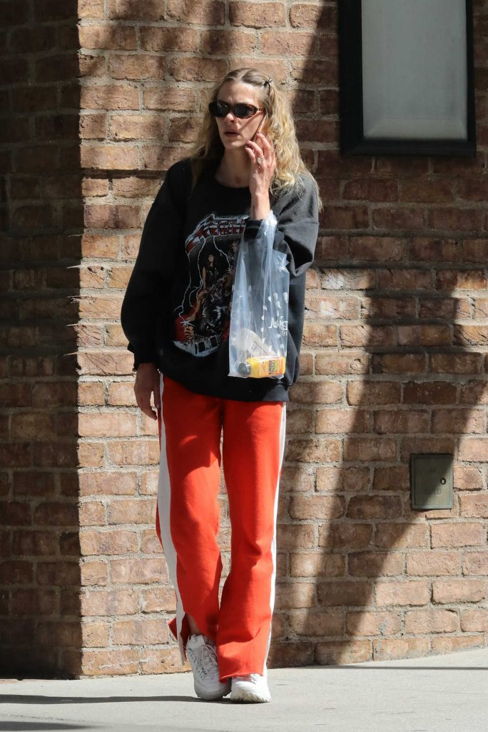 Jaime King Talks on Her Phone Out in New York City-2
