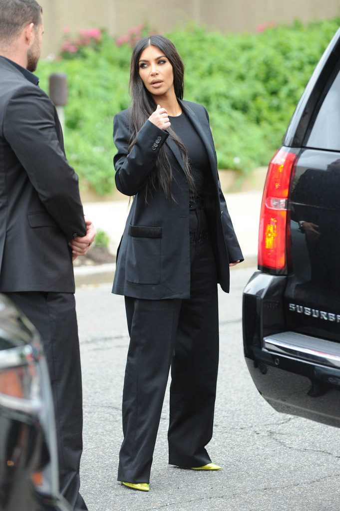 Kim Kardashian Visits The White House in Washington-2