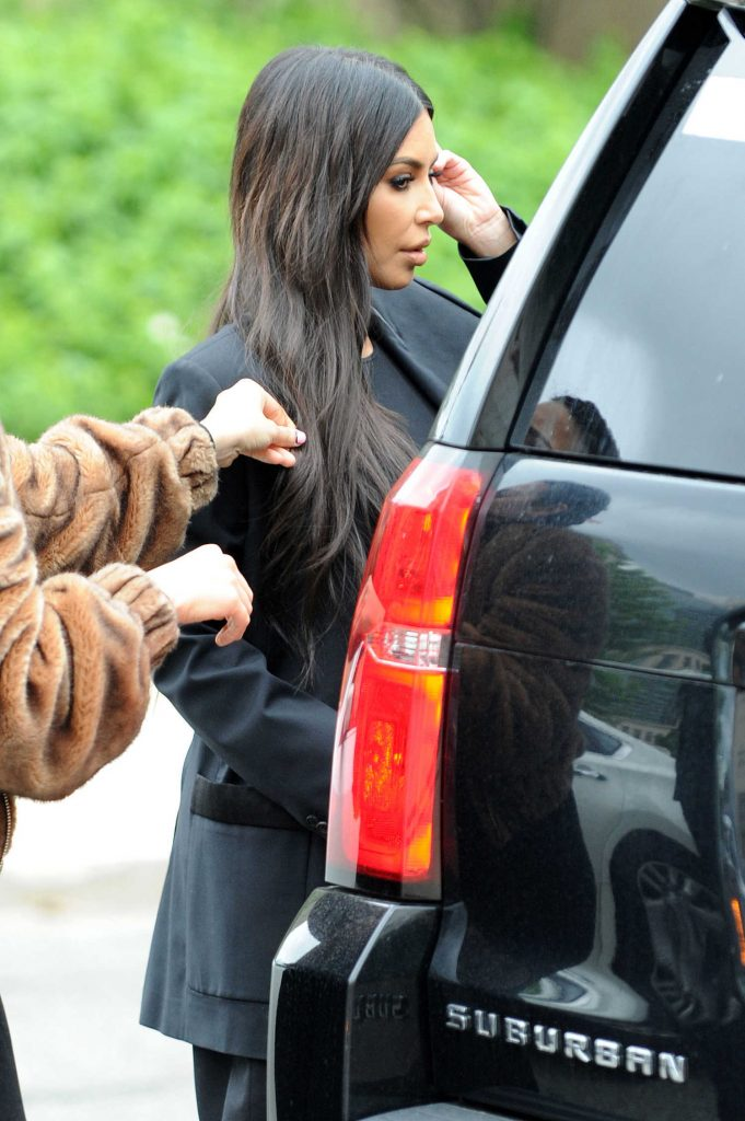 Kim Kardashian Visits The White House in Washington-4