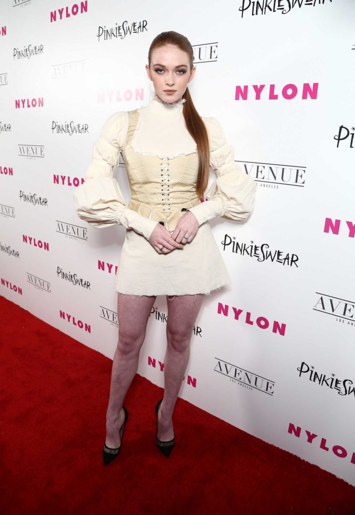 Larsen Thompson at 2018 Nylon Young Hollywood Party in Hollywood-1